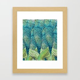 Mermaid Print Framed Art Print