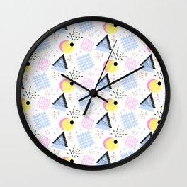 Liquorice Allsorts, Memphis Style Wall Clock