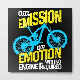 0 Emission 100 Emotion Metal Print