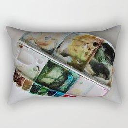 Autumn in Maine Working Palette Rectangular Pillow