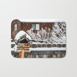 Snow House Bath Mat