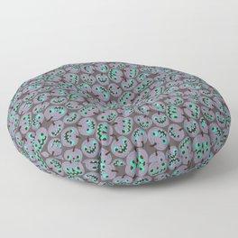 purple pumpkins Floor Pillow