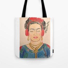 The Modernization of Frida Tote Bag