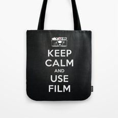Keep Calm And Use Film Tote Bag