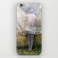 musa iPhone & iPod Skins featuring MUSA ENFERMA by Alex Usquiano