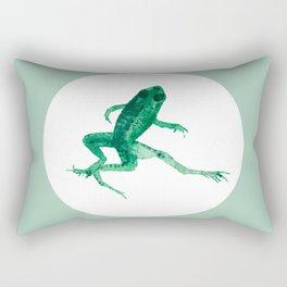 Study of a frog #03 Rectangular Pillow