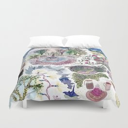 Random Access Paintings Duvet Cover