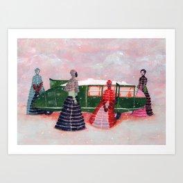 Dymaxion (horizontal) Art Print