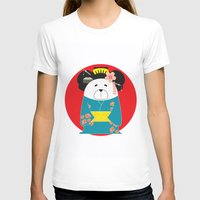 geisha T-shirts featuring Geisha by EinarOux