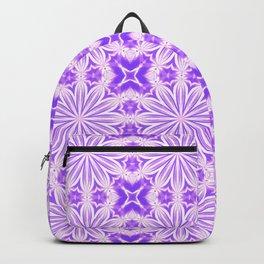 Lavender Purple Flower Cross Backpack