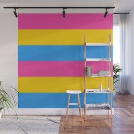 Pansexual Pride Flag v2 Wall Mural