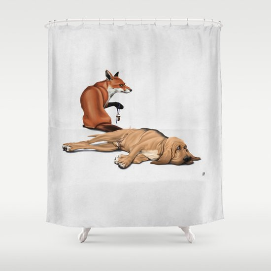 Not So (Wordless) Shower Curtain