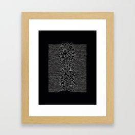 joy cartoon Framed Art Print