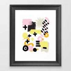 Perception Abstract 001 Framed Art Print