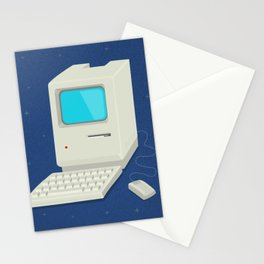 Retro computer Stationery Cards