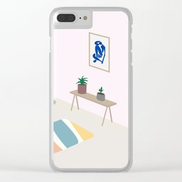 Interior with Matisse Clear iPhone Case