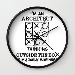 I'M AN ARCHITECT  Wall Clock