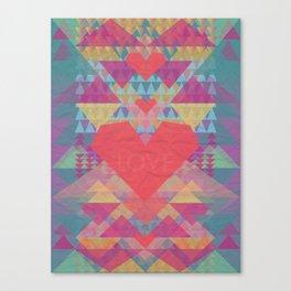 Love Me Lots Canvas Print