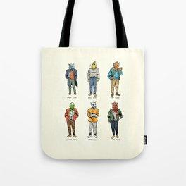 Animal Dudes Tote Bag