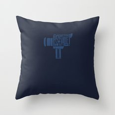 Production Value! -Super 8 Throw Pillow
