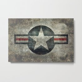 Air force Roundel v2 Metal Print