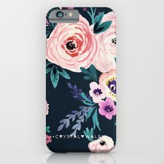 Moody Victoria Flower iPhone 6s Slim Case