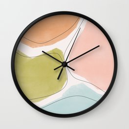 Piedritas Wall Clock