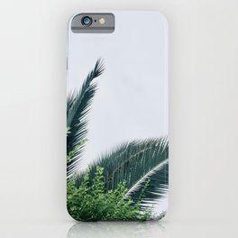 Natural Palm Story iPhone Case