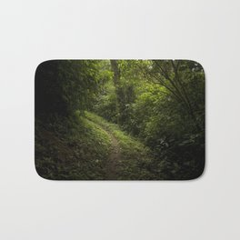 Green path Bath Mat