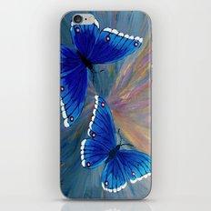Butterflies-2  iPhone & iPod Skin
