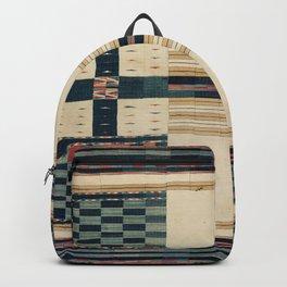 V43 Old Epic Moroccan Carpet Design Backpack