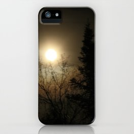 Moon Halo iPhone Case
