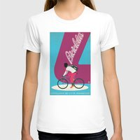 cycling T-shirts featuring Cycling by Carlos Hernandez
