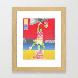 Valiantly Strive To Banish & Annihilate The Buddha Framed Art Print