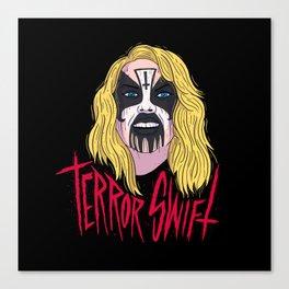 Terror Swift Canvas Print