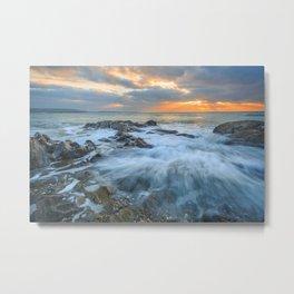 Sunrise at Dunmore Metal Print