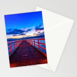 Crystal Pier Stationery Cards