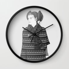 The Most Stylish Couple in Galactic 2 Wall Clock