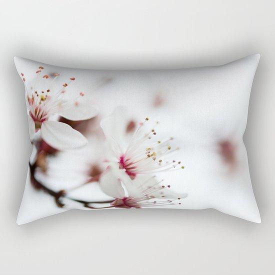 Plum Tree Rectangular Pillow