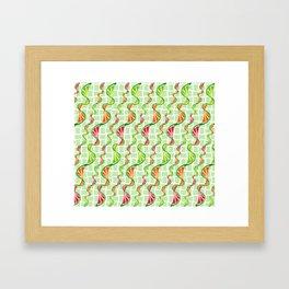 twisted citruses Framed Art Print
