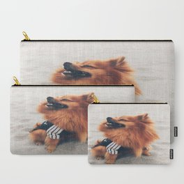 Beach Life Pomeranian Carry-All Pouch