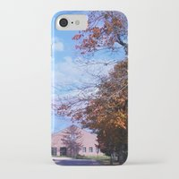 college iPhone & iPod Cases featuring College by Vickyyyy