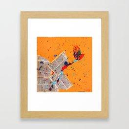Letter Trail by Nadia J Art Framed Art Print