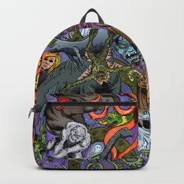 Cryptid Creatures and Mysterious Monsters Backpack