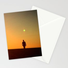 First Moonrise on Tatooine Stationery Cards