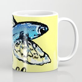 Fly you fool | Acrylic painting | Fish Coffee Mug