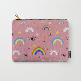 vivid rainbow Carry-All Pouch