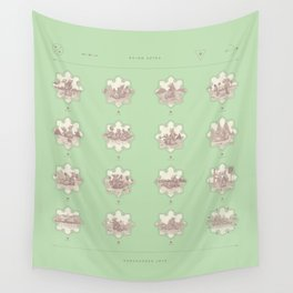 Endangered Love - Rhino Sutra Wall Tapestry
