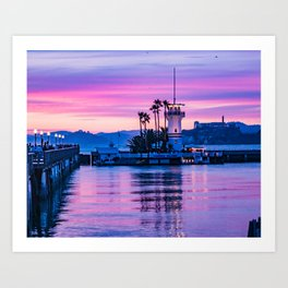 Forbes Island Light House Art Print