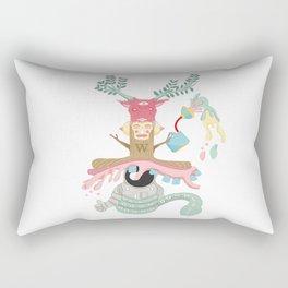 the spaces eater Rectangular Pillow